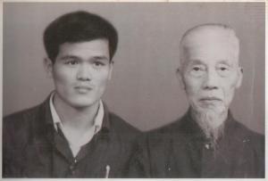 Mestre Xuan Wu e Grande Mestre Zhuang Wen Jun