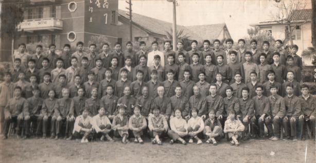 Grande Mestre Zhuan Wen Jun com alunos