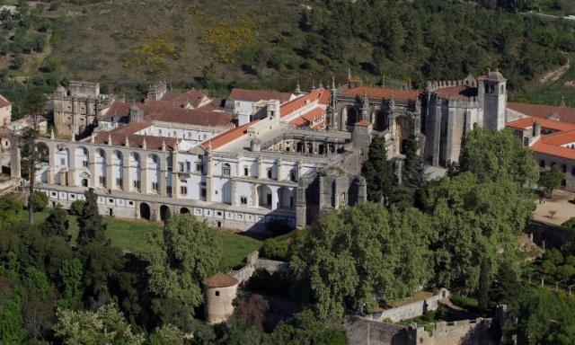 Convento de Cristo Tomar - imagem retirada de http://memorias.fotosblogue.com
