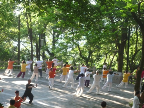 tai chi china wenzhou